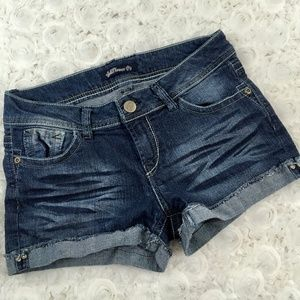Wallflower | Cuffed Jean Shorts